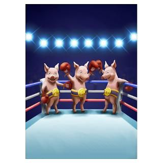 Three Little Pigs Posters & Prints
