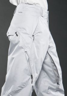 New Oakley Mens Karn Snow Pant XL White $100 Winter Ski Snowboard 10K