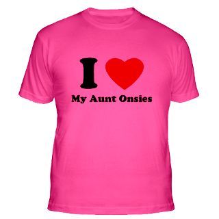 Love My Aunt Onsies Gifts & Merchandise  I Love My Aunt Onsies Gift