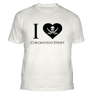 Love Coronation Street T Shirts  I Love Coronation Street Shirts