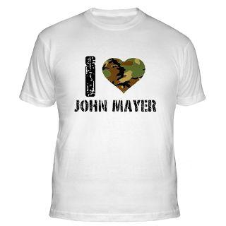 Love John Mayer T Shirts  I Love John Mayer Shirts & Tees
