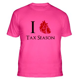 Love Tax Season Gifts & Merchandise  I Love Tax Season Gift Ideas