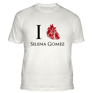 Love Selena Gomez T Shirts  I Love Selena Gomez Shirts & Tees