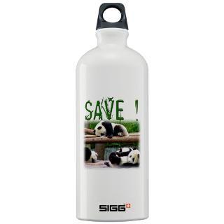 Giant Panda Bear Water Bottles  Custom Giant Panda Bear SIGGs