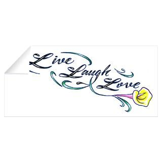 Wall Art  Wall Decals  Live Laugh Love Wall Decal