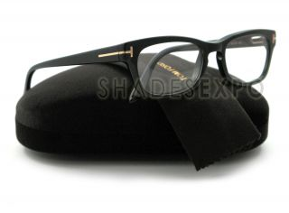 New Tom Ford Eyeglasses TF 5184 Black 001 TF5184 Auth