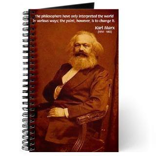 Karl Marx Journals  Custom Karl Marx Journal Notebooks