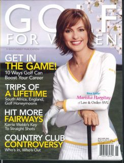Golf for Women Mariska Hargitay Karrie Webb Soledad OBrien 5 6 2005