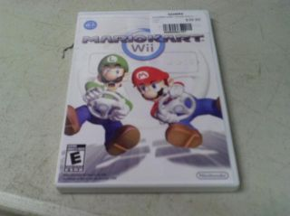 Mario Kart Game Only not Offical Cover Art Wii 2008
