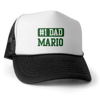 Number 1 Dad   Mario Trucker Hat
