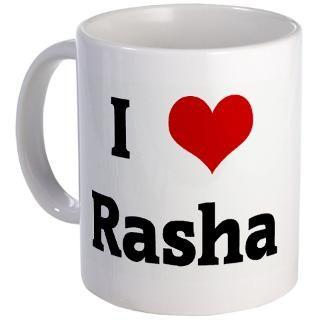 Love Rasha Mug  I Love Rasha  I Heart T Shirts and I Love