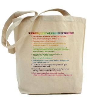11 Things from Schoolhouse Rock Tote Bag
