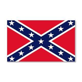 Civil War Gifts  Civil War Wall Decals  Confederate Flag 20x12