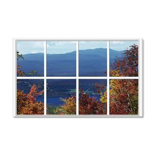 Artoffoxvox Gifts  Artoffoxvox Wall Decals  Mountain View Window