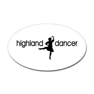 Highland Dance Stickers  Car Bumper Stickers, Decals