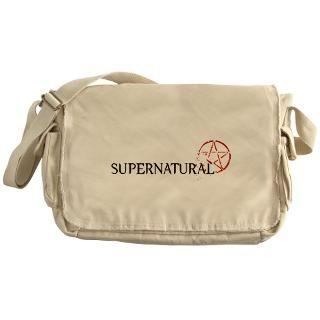 SUPERNATURAL Pentacle black Messenger Bag for $37.50