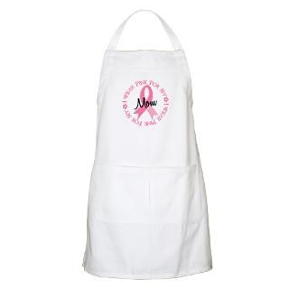 Wear Pink For My Mom 38 BBQ Apron