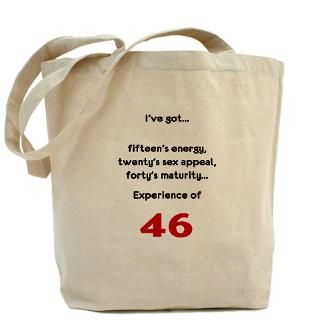 46 Gifts  46 Bags  Birthday 46 Tote Bag