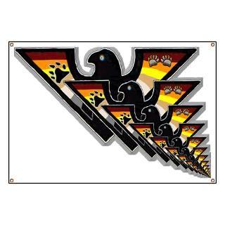 bear pride shadowed eagles infinity banner $ 47 95