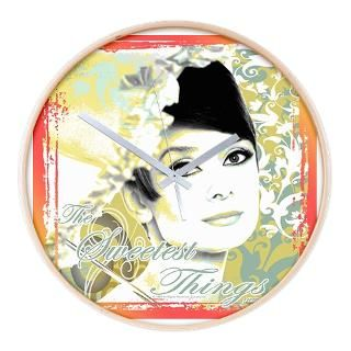 Audrey Hepburn 56 Umbrella   Wall Clock for $54.50