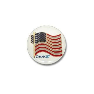Gifts  Buttons  Obama 57 State Flag Lapel Pin