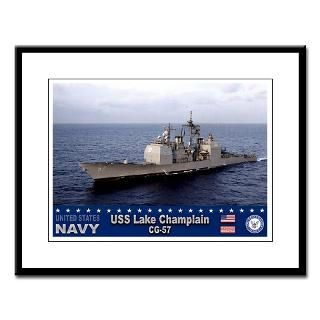 USS Lake Champlain CG 57 Guided Missile Cruiser : USA NAVY PRIDE