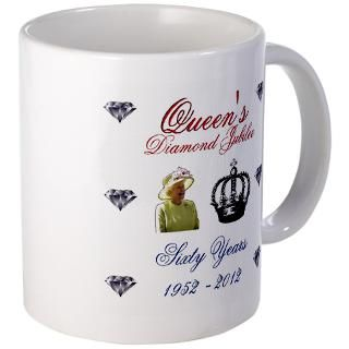 Queens Diamond Jubilee 1952 2012 60 Years Coffee Mug
