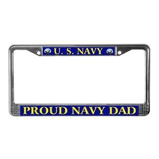 Us Navy License Plate Frame  Buy Us Navy Car License Plate Holders