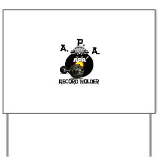 Record Holder Shirts & Things  APA Powerlifting and Hardcorebiker Org