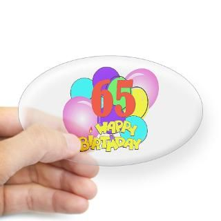 65Th Birthday Stickers  Car Bumper Stickers, Decals