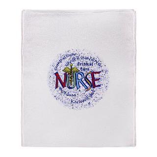 critical care nurse motto stadium blanket $ 71 49