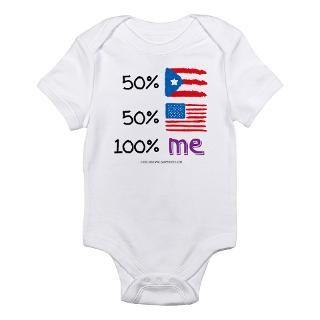 Puerto Rico/USA Flag Design Body Suit by soupershop