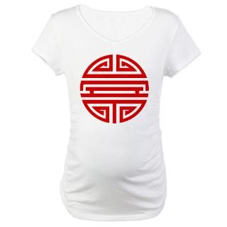 Shou symbol in Red on T shirts, tops and a range of gifts