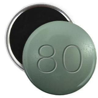 80 Gifts > 80 Magnets > Oxycontin 80mg Green Pill Magnet