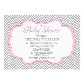 Girl Baby Shower Invitaciones, Girl Baby Shower anuncios, Girl Baby