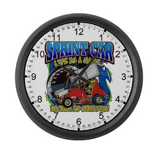 Dirt Track Racing Clock  Buy Dirt Track Racing Clocks