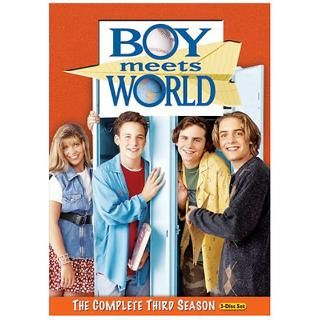 Boy Meets World The Complete Third Season DVD for $19.98