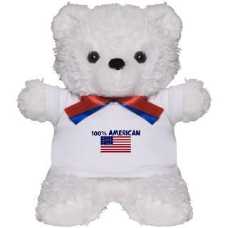 100 Percent American Gifts  100 Percent American Teddy Bears  100
