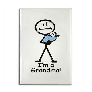 New Grandma Baby Boy  BusyBodies Stick Figure T shirts and unique