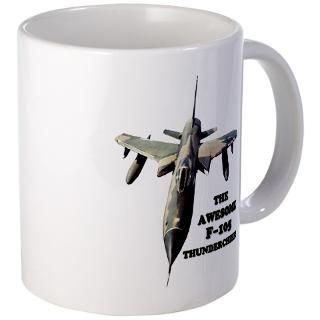 Mug > The Awesome F 105 Thunderchief