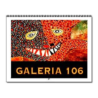Gifts  Art Exhibition Home Office  Galeria 106 Wall Calendar