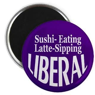 Proud Liberal Buttons and Magnets  Proud Liberal Bumper Stickers and