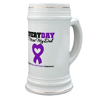 Everyday I Miss My Dad Pancreatic Cancer Awareness Gifts, Shirts, Tees