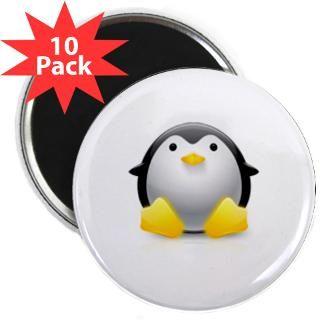 magnet $ 3 73 linux logo tux penguin 2 25 magnet 100 pack $ 114 98