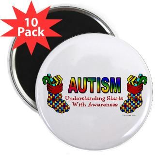Autism Christmas Stocking 5  Awareness Gift Boutique Support Shirts