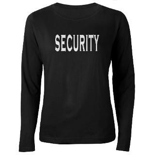 Security Long Sleeve Ts  Buy Security Long Sleeve T Shirts