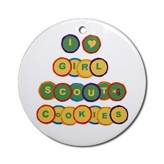 Girl Scout Troop Christmas Ornaments  Unique Designs