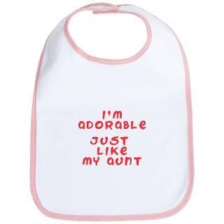 123 Gifts & Merchandise  I Love My Nanny Nannies Baby Bib Abc 123