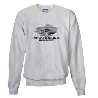 Afghanistan Sweatshirts & Hoodies  C 130 Spooky Gunship Sweatshirt