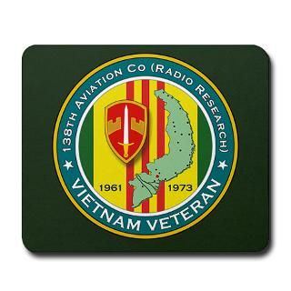 138th Aviation Co (Radio Research) Mousepad